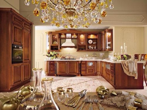 Кухни массив 002