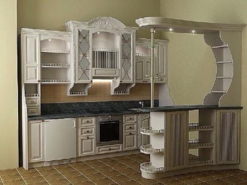 Кухни массив 008