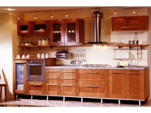Кухни массив 011