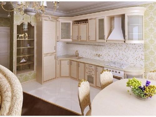 Кухни массив 012