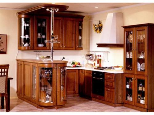 Кухни массив 022