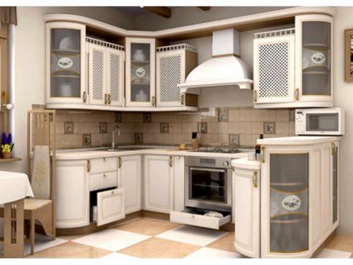 Кухни массив 024
