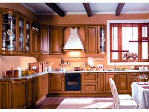 Кухни массив 027