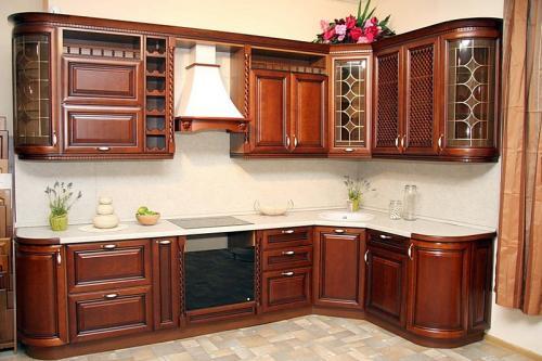 Кухни массив 031