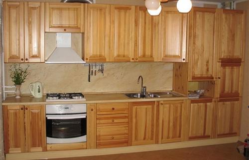 Кухни массив 032