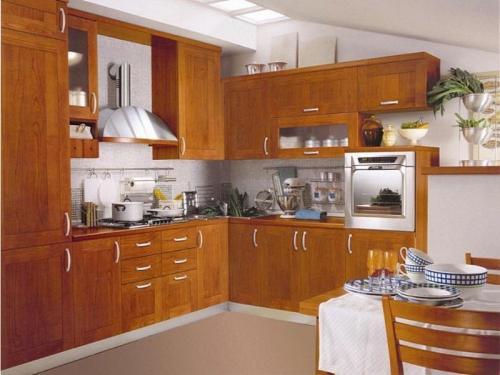 Кухни массив 034