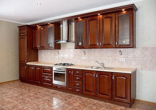 Кухни массив 035