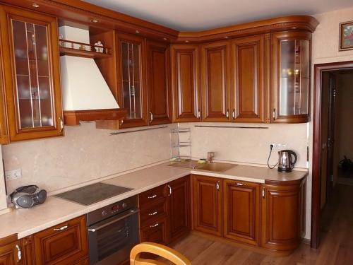 Кухни массив 036