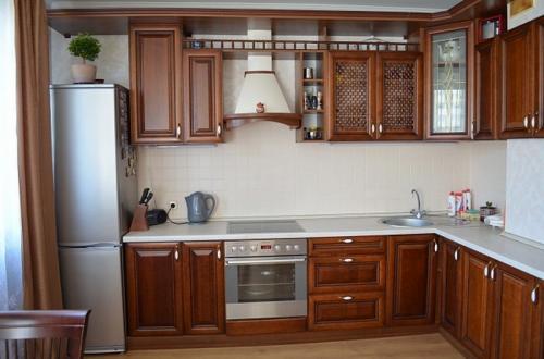 Кухни массив 037
