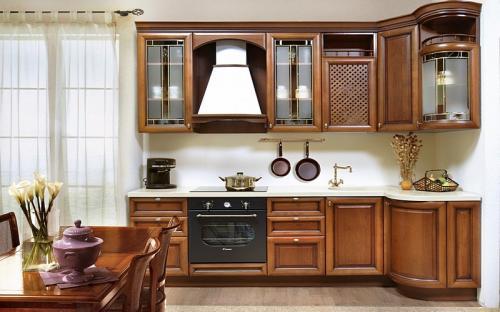 Кухни массив 038