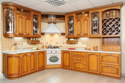 Кухни массив 042