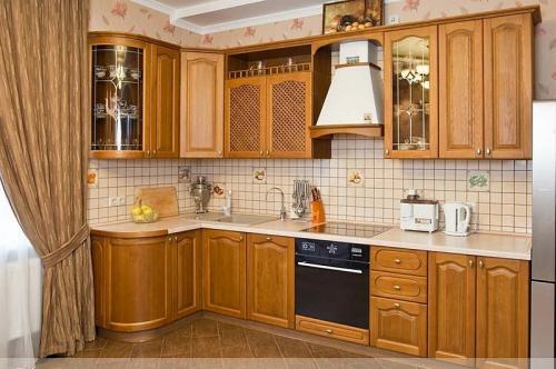 Кухни массив 043
