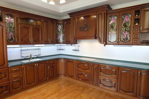 Кухни массив 045