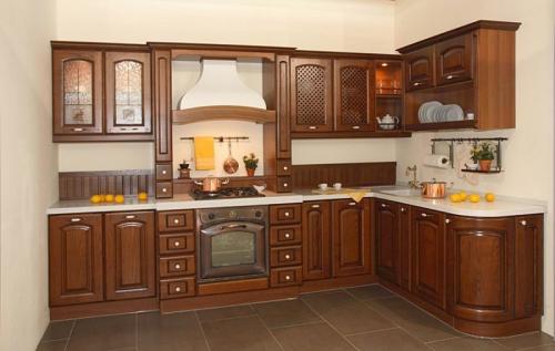 Кухни массив 046