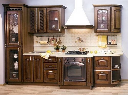 Кухни массив 047