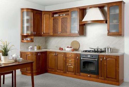 Кухни массив 050