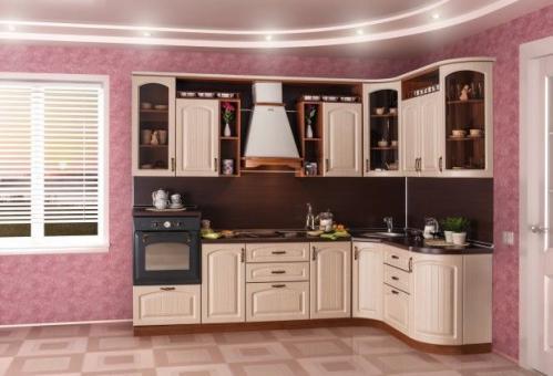 Кухни мдф 033