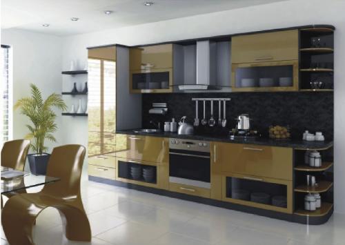 Кухни мдф 010