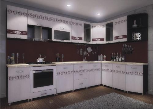 Кухни мдф 021
