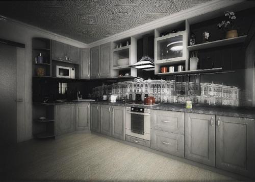Кухни мдф 023