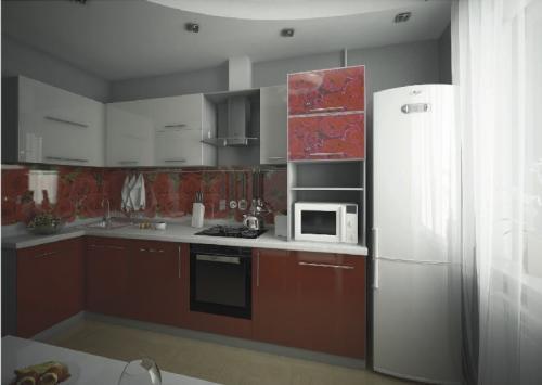 Кухни мдф 025