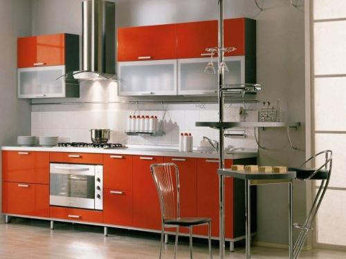 Кухня пластик 057
