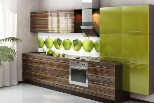Кухня пластик 061