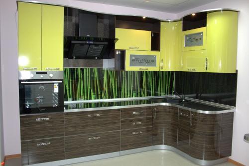 Кухня пластик 068