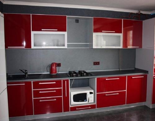 Кухня пластик 011