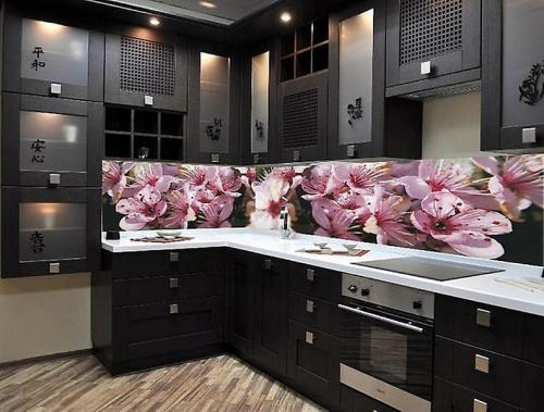 Кухня пластик 052
