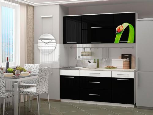 Кухня с фотопечатью-068