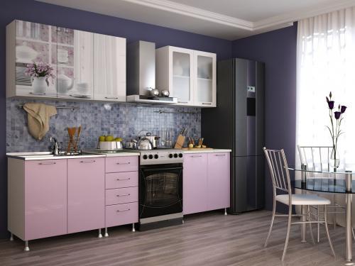 Кухня с фотопечатью-066