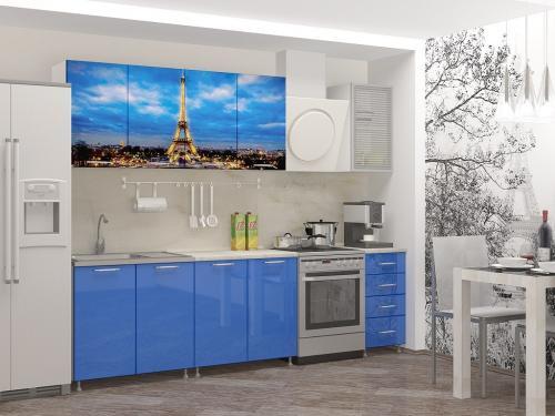 Кухня с фотопечатью-060