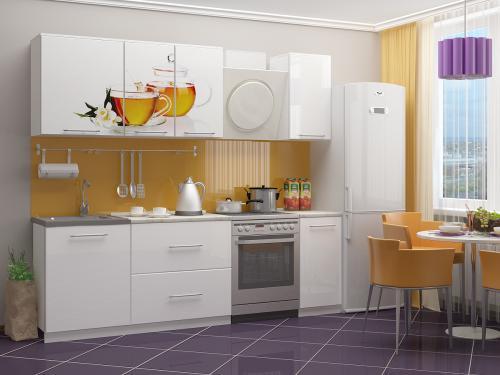 Кухня с фотопечатью-070